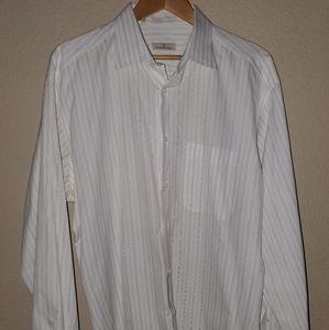 Ermenegildo Zegna mens long sleeve dress shirt.